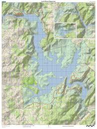 Phoenix Mountain Preserve Map by Loch Raven Hiking Trail Maps Loch Raven Trails Loch Raven Trails