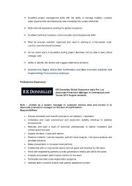 Sample Resume For Changing Careers by Pradeep Resume