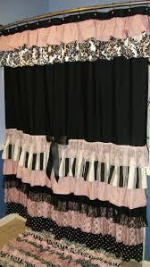 Pink Gingham Shower Curtain 37 Best Custom Made Shower Curtains Images On Pinterest Shower