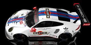 porsche martini livery 2017 martini porsche 911 rsr skins racedepartment
