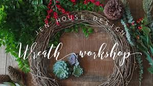 wreath making workshop pastel