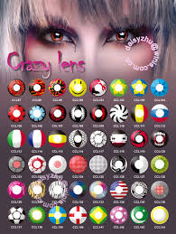 halloween contacts anime naruto cosplay wholesale crazy color