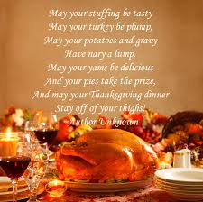 thanksgiving blessing for friends may your thanksgiving