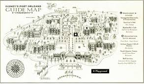 Walt Disney World Resorts Map by Disney U0027s Port Orleans French Quarter Map Wdwinfo Com