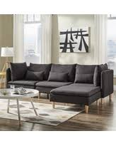Modular Chaise Lounge Spring Sale Soto Modern Upholstered Modular Chaise Loveseat
