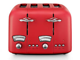 Morphy Richards 2 Slice Toaster Red Toasters Small Kitchen Appliances Appliances Departments