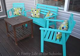 Paint For Metal Patio Furniture 15 Diy Ideas For Sprucing Up Your Backyard
