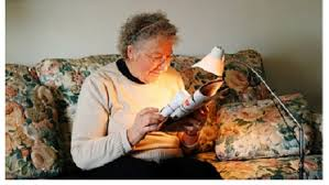 lighting for visually impaired how to maximise lighting for reading
