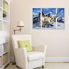 aliexpress com buy new creative 3d false windows snow capped