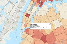 Crime Map New York new york police department unveils interactive map of major crimes