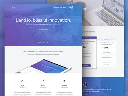 27 best free landing page html template of 2018