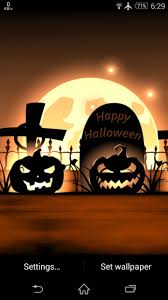 halloween pumpkins wallpaper happy halloween pumpkin live wallpaper for android
