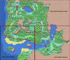 safari zone map johto safari zone wiki