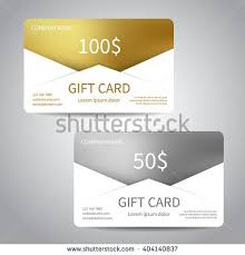gift cards at a discount set gift cards discount cards templates stock vector 404140837