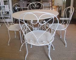 Metal Garden Table And Chairs Uk Antiques Atlas Antique Garden Table And 4 Chairs