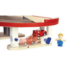 plan toys parking garage wooden learning child australia