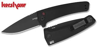 kershaw kitchen knives kershaw 7300blk launch 3 automatic 3 4 black finish plain edge