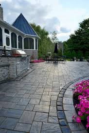 Unilock Patio Designs by 17 Best Images About Paver Patios On Pinterest Fire Pits Parks