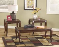 set of three end tables mattie occasional table set set of 3 t317 13 three pack