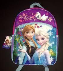 disney frozen elsa anna book bag pack bookbag
