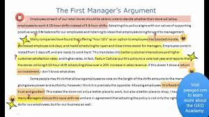 extended essay business and management sample leonard writes an extended response youtube