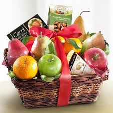 fruit and cheese gift baskets fruit nut cheese cracker basket a better bloom florist