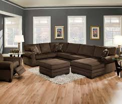 color schemes for living rooms with brown furniture paint colors
