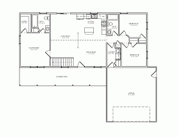 simple rambler house plans with three bedrooms small split in