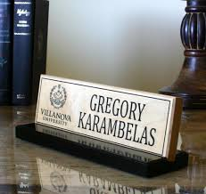 Desk Name Plates Wood Glass Name Plates For Desk Hostgarcia With Regard To Glass Desk