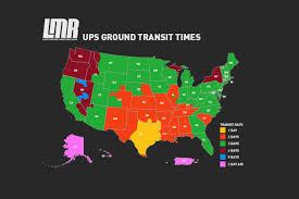 Ups Ground Shipping Map Shipping Terms Lmr Com Lmr Com