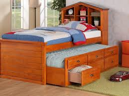 solid wood twin bed frame with drawers home design ideas