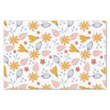 floral tissue paper floral craft tissue paper zazzle au