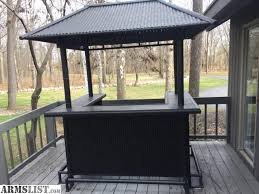 tiki bars for sale armslist for sale tiki bar with chairs regarding outdoor tiki