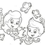 free bubble guppies coloring pages fish coloring pages free printable fish coloring pages for kids