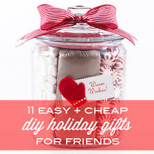 11 easy and cheap diy holiday gifts for friends babble diy