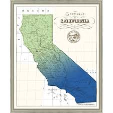 california map framed 93 best maps travel posters images on posters