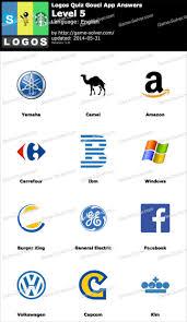 logos quiz gouci app level 5 logo quiz pinterest logos and app