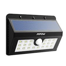 bright light solar 20 led solar lights mpow 3 in 1 wireless weatherproof security