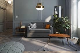 Linen Sleeper Sofa Signature Sleep Mattresses Grey Linen Sleeper Sofa With