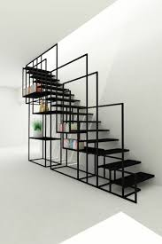 square staircase design concept for a cient uk Box Stairs Design