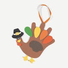 handprint turkey craft kit orientaltrading com holiday