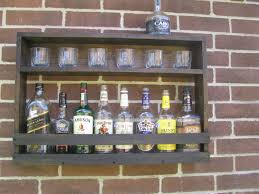 wall mounted liquor cabinet in yellow u2013 home design and decor
