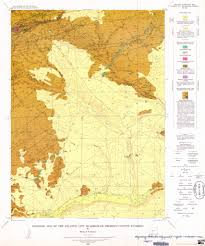 Atlantic City Map Geologic Wyoming South Pass Area Maplets