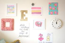 Cute Home Decor Websites My Freshman Dorm Room To Spice Up The Stark White Walls I Created