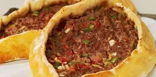 cuisine turque facile pizza turque facile et pas cher recette sur cuisine actuelle