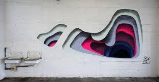 layers of color revealed on walls u2013 fubiz media