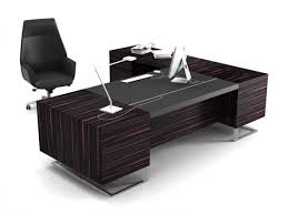 l shaped drafting desk modern executive office design 4 elegant black executive desks