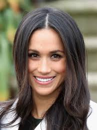 throwback photos of meghan markle wearing curly hair texture