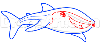 how to draw destiny from finding dory step by step disney