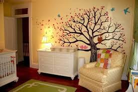 fresque murale chambre bébé la peinture chambre bébé 70 idées sympas